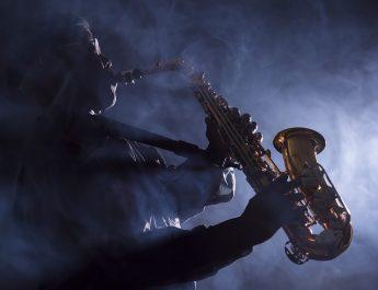 African-American-jazz-musician