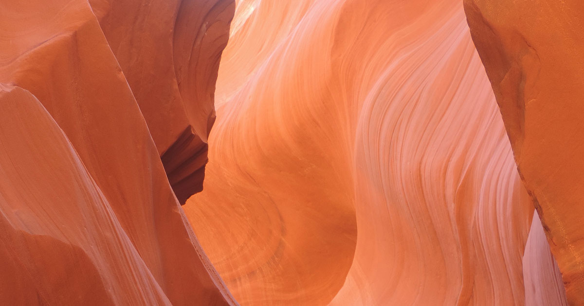 Lower Antelope Canyon Glows with Shifting Light