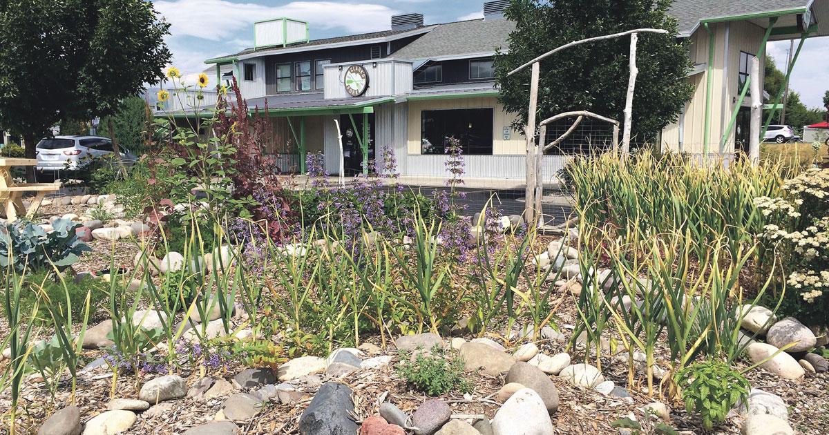 The Garden at Bozeman's Clark's Fork Restaurant