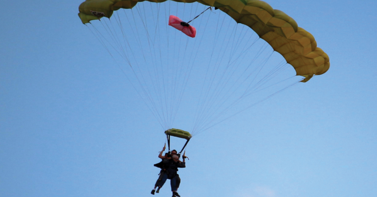 Hospice Care and Skydiving