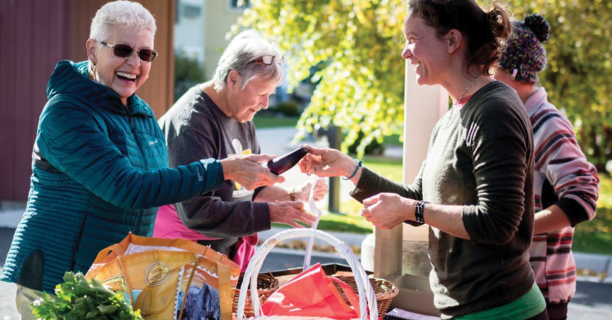 Missoula's Garden City Harvest for Seniors on Limited Income