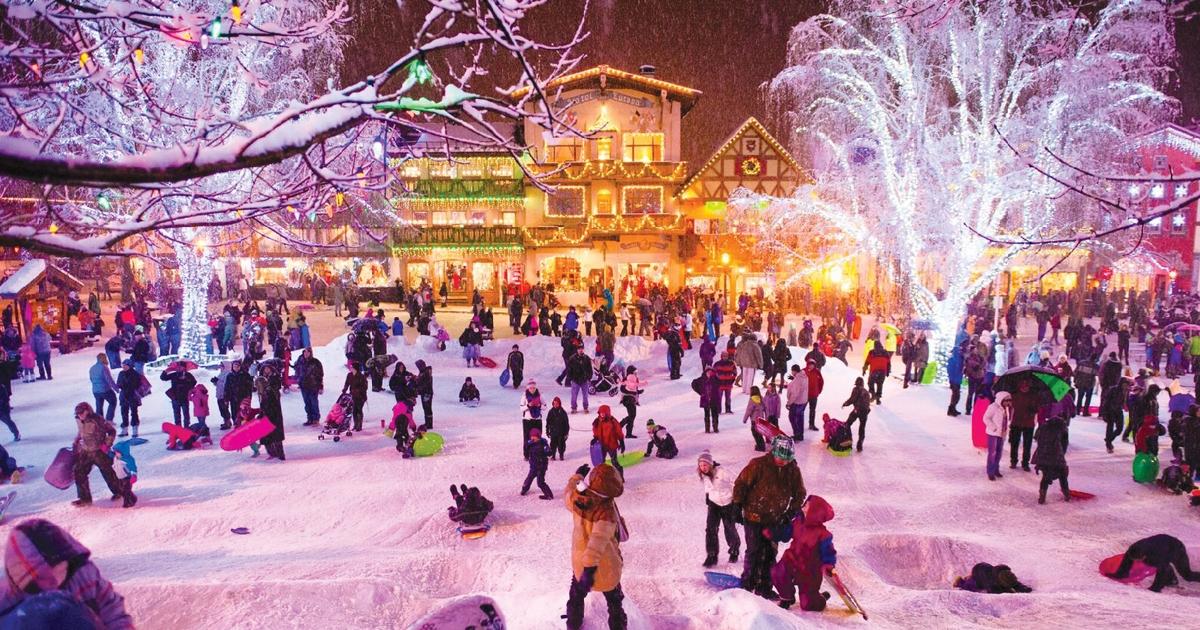 A village of lights: Leavenworth, Washington during the Holidays