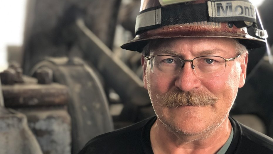 Scott Rosenthal, Tour Guide at the Orphan Girl Mine