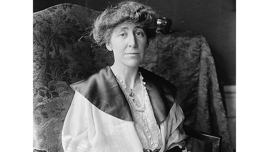 Celebrating Womens History Month - Jeannette Rankin