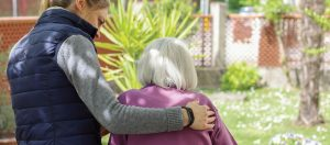 Frail relative visitors to your home