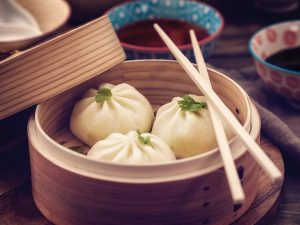 Photo of pork dumplings for the Lunar New Year recipe idea