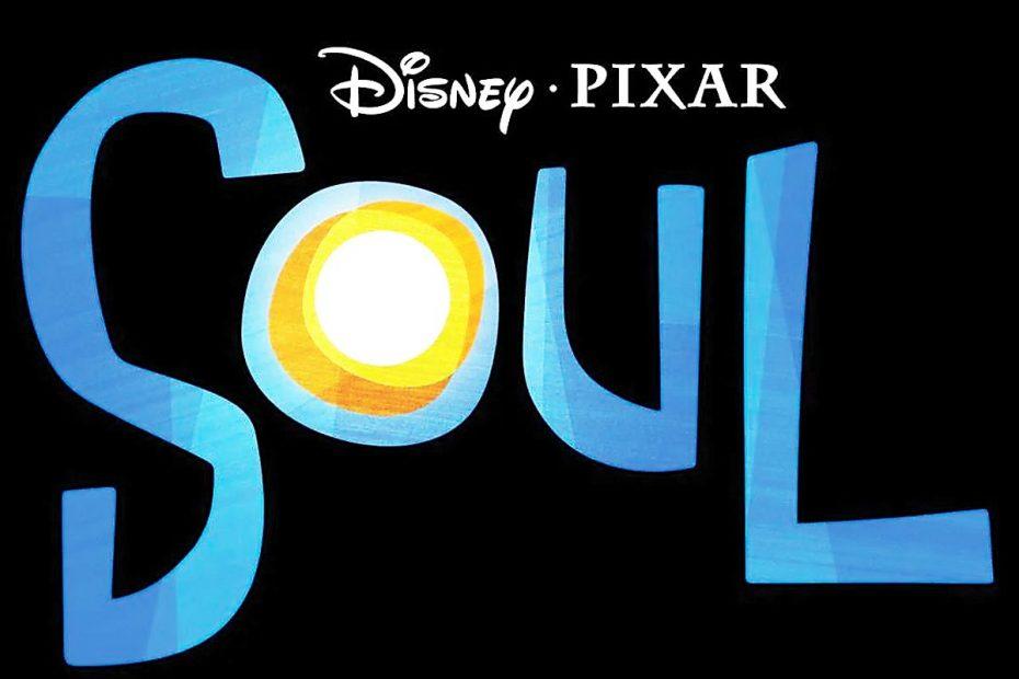"Illustrated text reading ""Disney • Pixar Soul"""