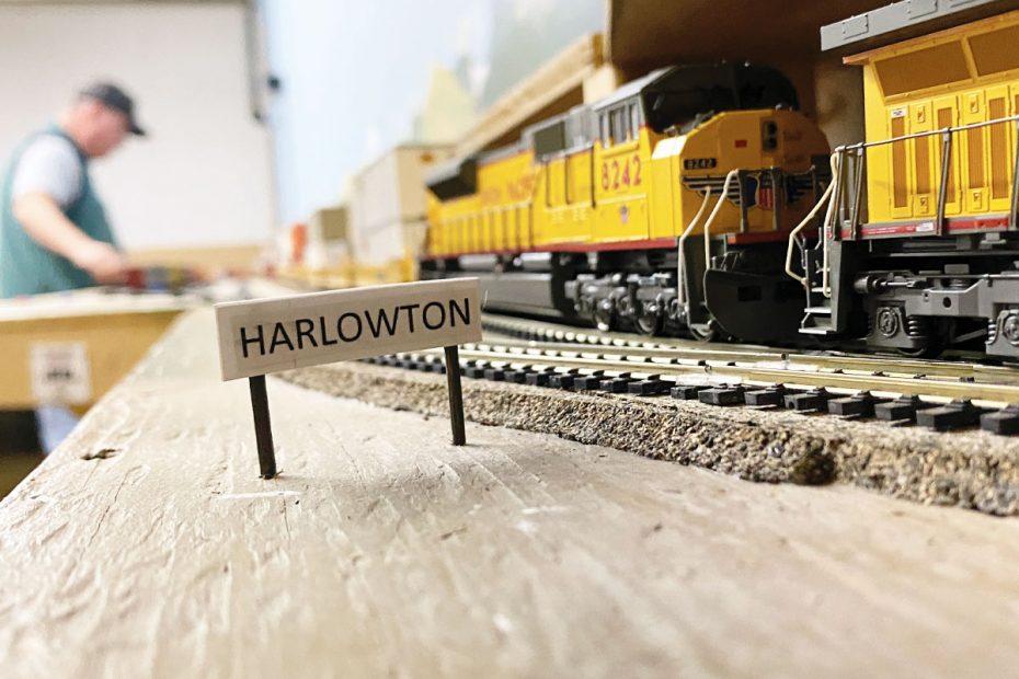 Harlowtown at the WMRHA model railroads