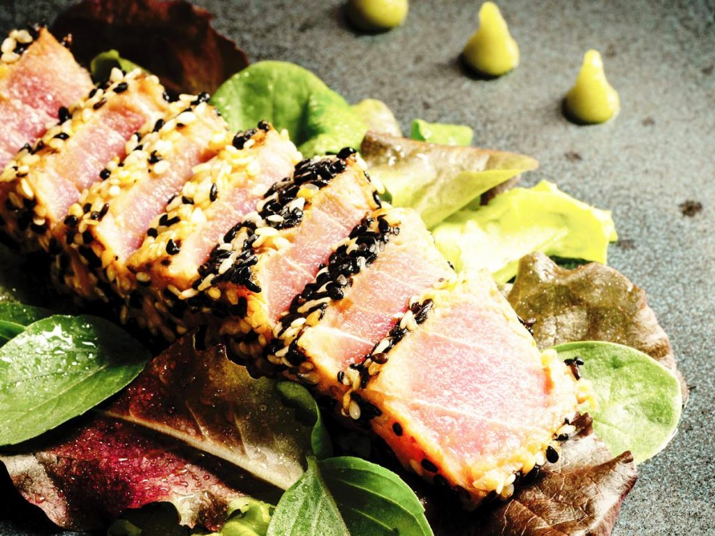 recipe ahi tuna steak