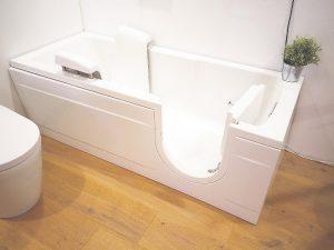 Photo of a walk-in tub