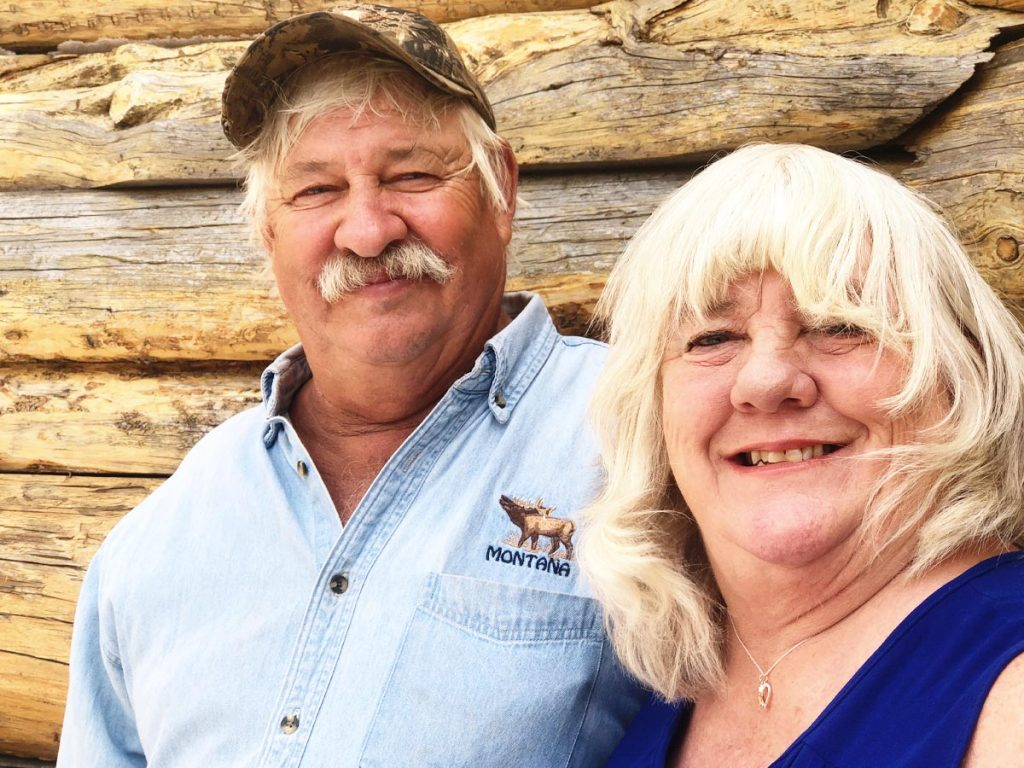 Jim and Roxanne Swartz Show Gumption and Grit